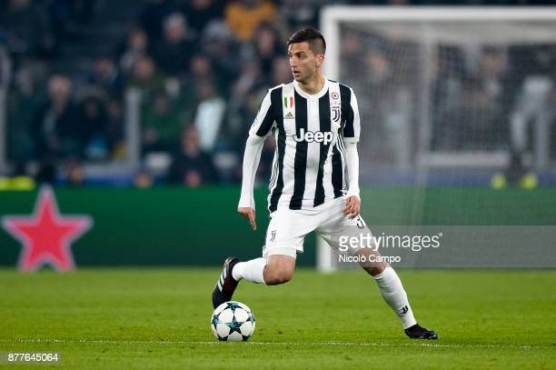 Rodrigo Bentancur of Juventus FC in action during the UEFA Champions League football match between Juventus FC and FC Barcelona The match ended in a...