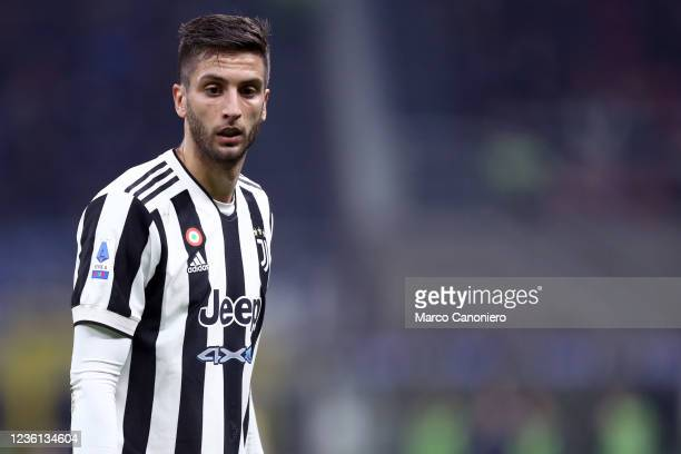 Rodrigo Bentancur of Juventus Fc looks on during the Serie A match between Fc Internazionale and Juventus Fc. The match ends in a tie 1-1.