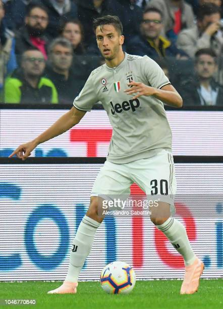 Rodrigo Bentancur of Juventus in action during the Serie A match between Udinese and Juventus at Stadio Friuli on October 6 2018 in Udine Italy