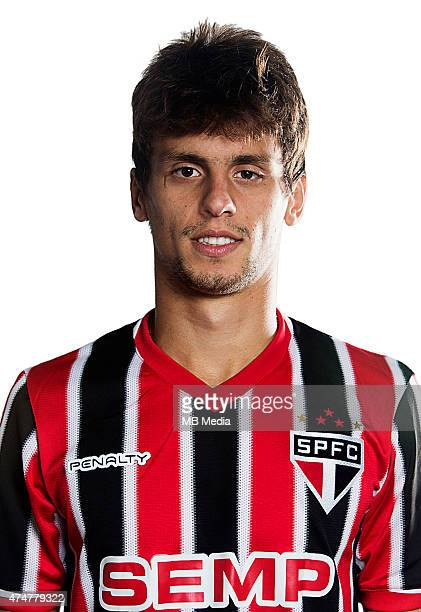 Rodrigo Caio of Sao Paulo Football Clube poses for a portrait on August 14 2014 in Sao PauloBrazil