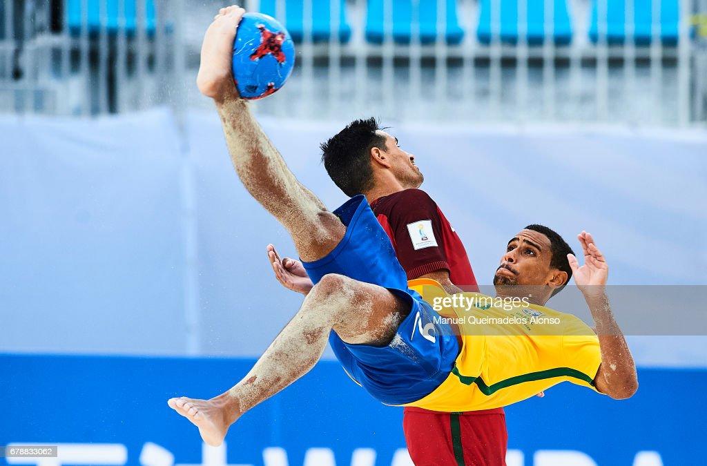Brazil v Portugal - FIFA Beach Soccer World Cup Bahamas 2017 : ニュース写真