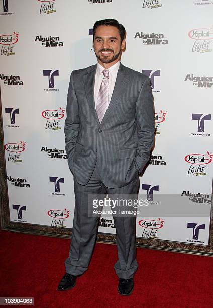 Rodrigo de la Rosa attends screening of Telemundo's Alguien Te Mira at The Biltmore Hotel on September 7 2010 in Coral Gables Florida