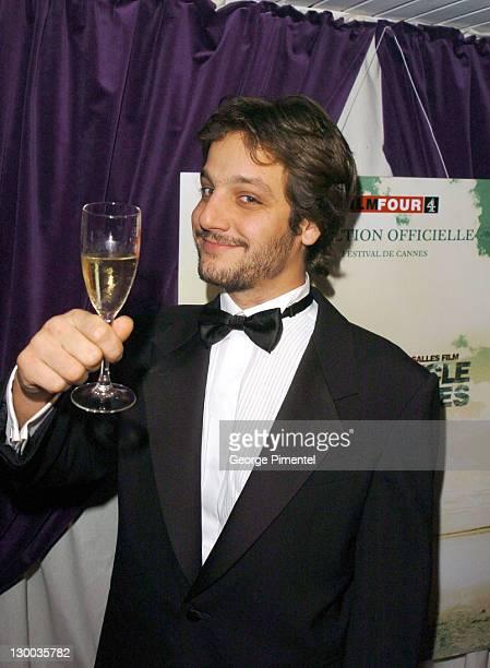 Rodrigo De La Serna during 2004 Cannes Film Festival Motorcycle Diaries Party at La Plage Coste in Cannes France