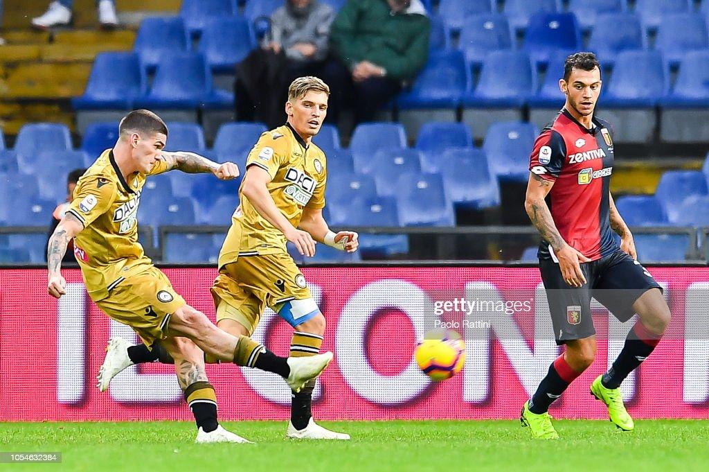 Genoa CFC v Udinese - Serie A : News Photo