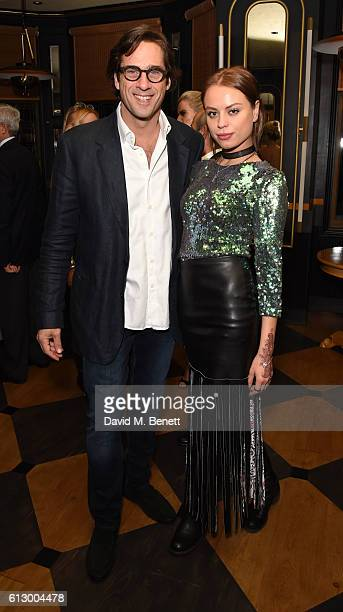 Rodrigo de Santiago Atencio and DJ Jenia Medvedeva attend the launch of new book Could Have Would Have Should Have Inside The World Of The Art...