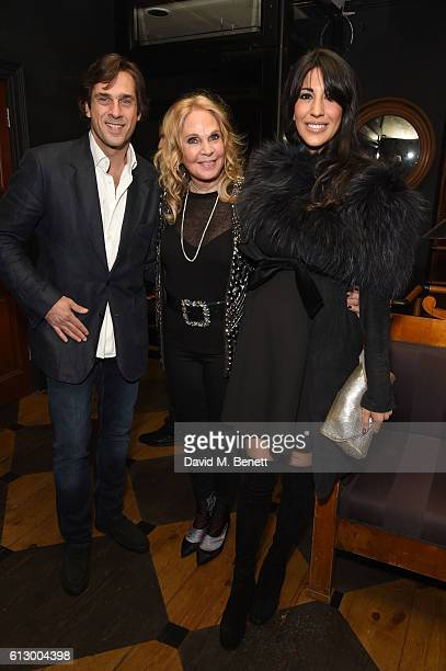 "Rodrigo de Santiago Atencio, Tiqui Atencio and Kim de Santiago attend the launch of new book ""Could Have, Would Have, Should Have: Inside The World..."