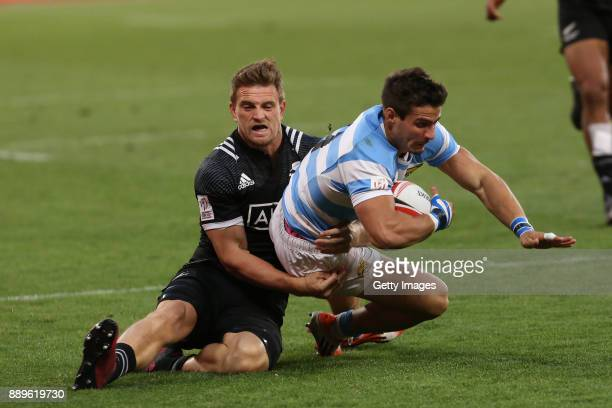 Rodrigo Etchart of Argentina during the 2017 HSBC Cape Town Sevens Cup Final match between New Zealand and Argentina at Cape Town Stadium on December...