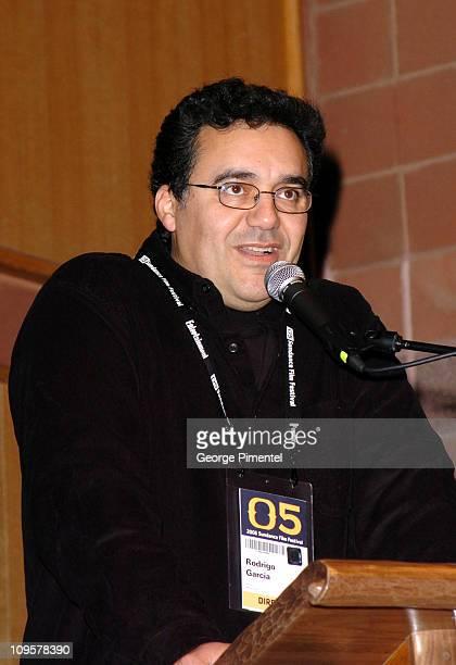 Rodrigo Garcia director during 2005 Sundance Film Festival Nine Lives Premiere at Eccles Theatre in Park City Utah United States