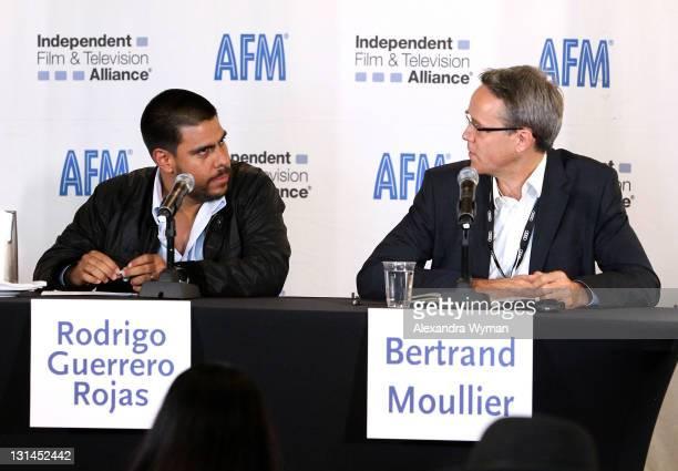 Rodrigo Guerrero Rojas Producer Maria Full of Grace Contracorriente La Cara Oculta and Host Bertrand Moullier Naval Conseil FIAPF Senior Expert for...