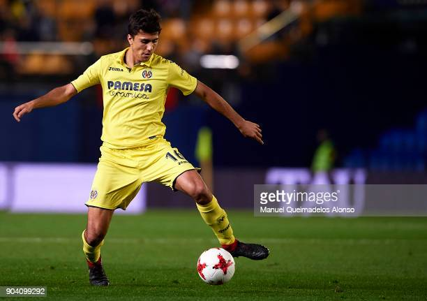Rodrigo Hernandez of Villarreal in action during the Copa del Rey Round of 16 second Leg match between Villarreal CF and Leganes at Estadio de La...