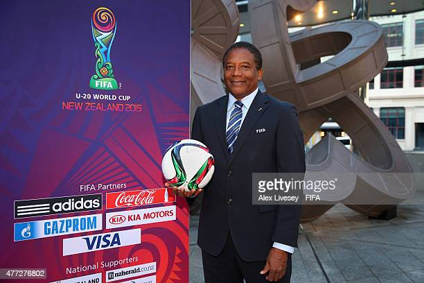 Rodrigo Kenton of the FIFA Technical Study Group poses for a portrait outside the Sky City Grand Hotel during the FIFA U20 World Cup on June 16 2015...