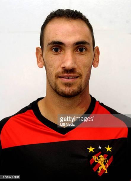 Rodrigo Mancha of Sport Club do Recife poses during a portrait session on August 14 2015 in RecifeBrazil