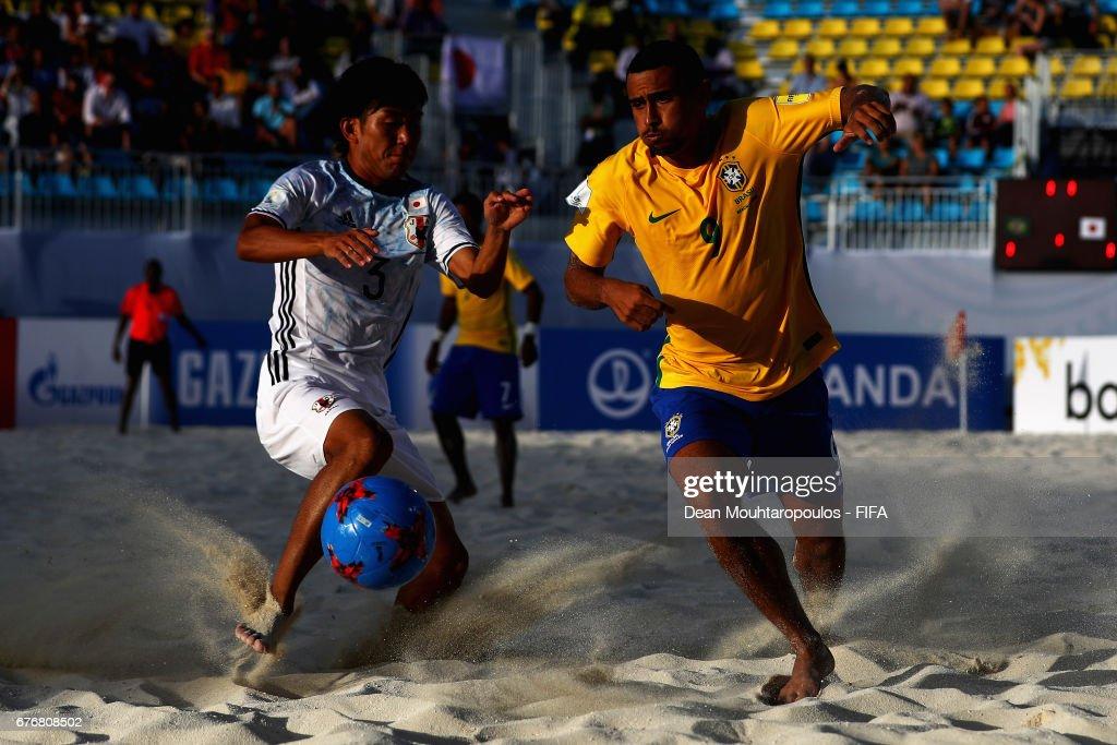 Brazilv Japan - FIFA Beach Soccer World Cup Bahamas 2017 : ニュース写真