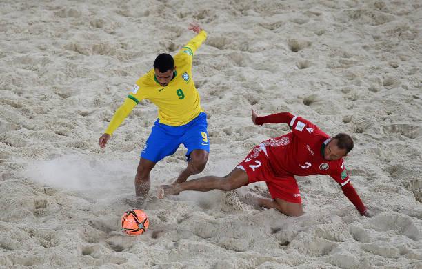 RUS: Brazil v Belarus - FIFA Beach Soccer World Cup 2021