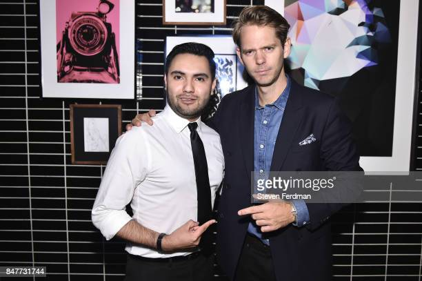 Rodrigo Orozco and Thomas Pierce attend PMA with KANTRR Labs and Pierce Capital Entertainment host the Wrap Party of 'Tu Me Manques' Sponsored by...