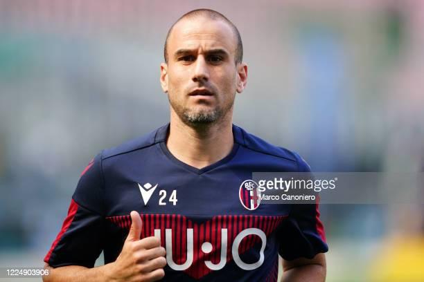 Rodrigo Palacio of Bologna Fc during the Serie A match between Internazionale Fc and Bologna Fc. Bologna Fc wins 2-1 over Internazionale Fc.