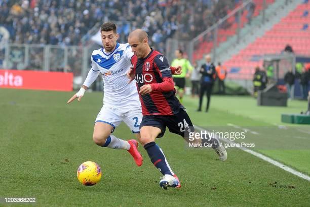 Rodrigo Palacio of Bologna FC in action during the Serie A match between Bologna FC and Brescia Calcio at Stadio Renato Dall'Ara on February 01 2020...