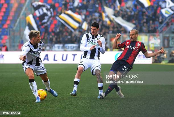Rodrigo Palacio of Bologna FC in action during the Serie A match between Bologna FC and Udinese Calcio at Stadio Renato Dall'Ara on February 22 2020...