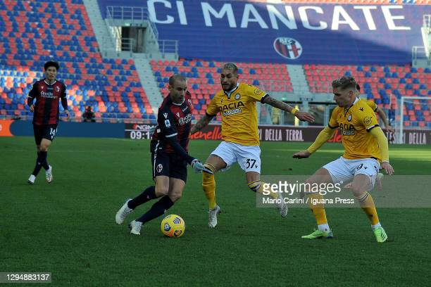 Rodrigo Palacio of Bologna FC in action during the Serie A match between Bologna FC and Udinese Calcio at Stadio Renato Dall'Ara on January 06, 2021...