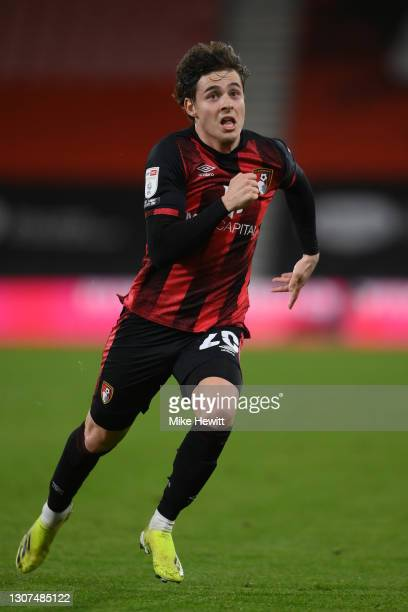 Rodrigo Riquelme of Bournemouth in action during the Sky Bet Championship match between AFC Bournemouth and Swansea City at Vitality Stadium on March...