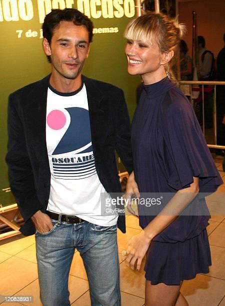 Rodrigo Santoro and girlfriend Ellen Jabour during 'Nao Por Acaso' Rio de Janeiro Premiere at 000007LIS5523070522 in Rio De Janeiro Brazil