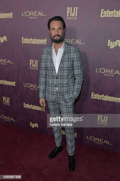 Rodrigo Santoro attends the 2018 PreEmmy Party hosted by Entertainment Weekly and L'Oreal Paris at Sunset Tower on September 15 2018 in Los Angeles...