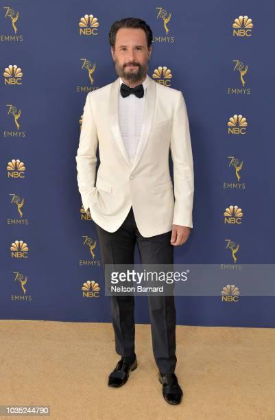 Rodrigo Santoro attends the 70th Emmy Awards at Microsoft Theater on September 17 2018 in Los Angeles California