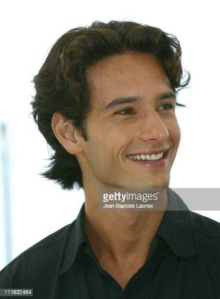 Rodrigo Santoro during 2003 Cannes Film Festival Carandiru Photo Call at Palais des Festivals in Cannes France