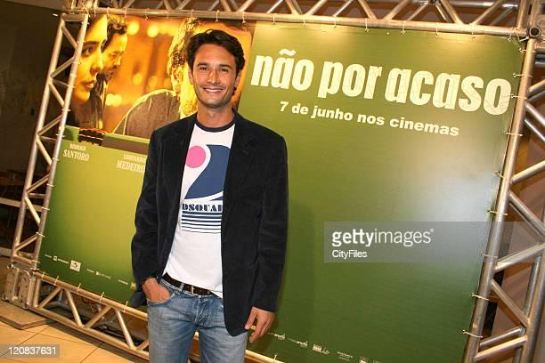 Rodrigo Santoro during 'Nao Por Acaso' Rio de Janeiro Premiere at 000007LIS5523070522 in Rio De Janeiro Brazil
