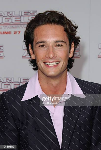 Rodrigo Santoro during Premiere of Charlie's Angels Full Throttle at Grauman's Chinese Theatre in Hollywood California United States