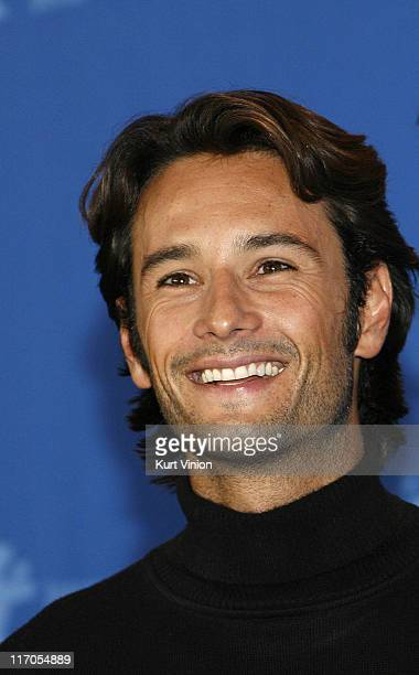 Rodrigo Santoro during The 57th Annual Berlinale International Film Festival 300 Photocall and Press Conference in Berlin Germany