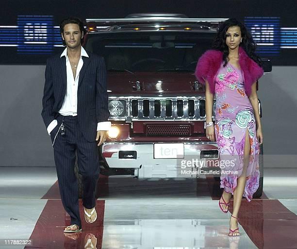Rodrigo Santoro with custom Hummer H2 during TEN GM Rocks Award Season With Cars Stars and Fashion Show at Sunset and Vine in Hollywood California...