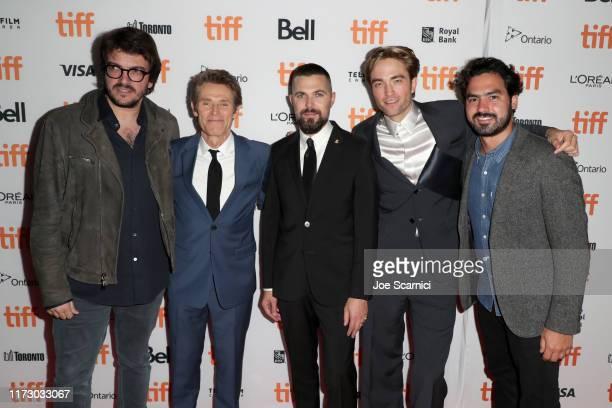 Rodrigo Teixeira Willem Dafoe Robert Eggers Robert Pattinson and Lourenco Sant'Anna attend The Lighthouse premiere during the 2019 Toronto...