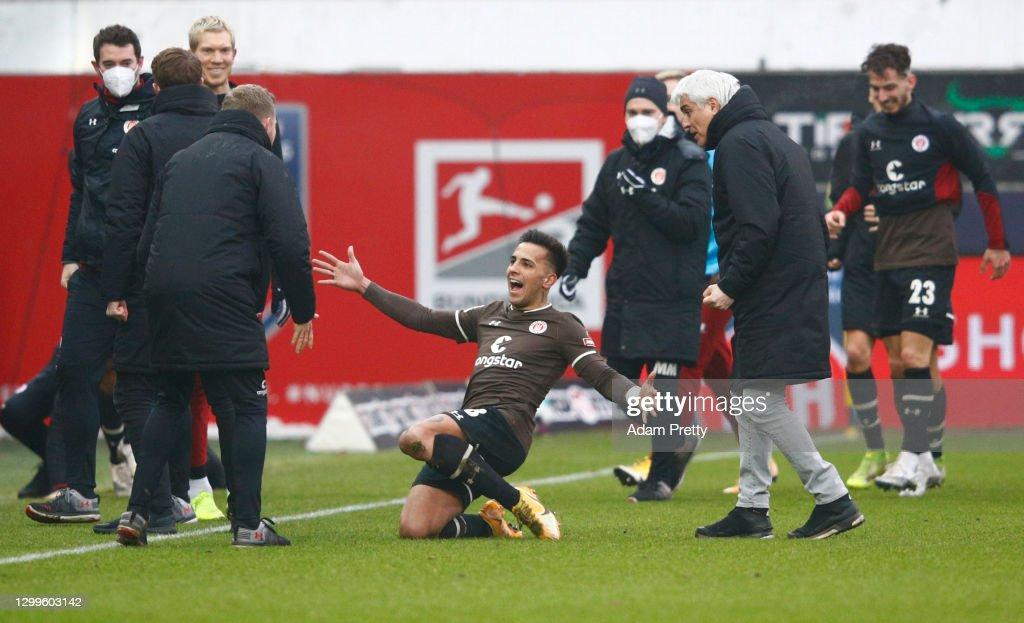 1. FC Heidenheim 1846 v FC St. Pauli - Second Bundesliga : News Photo