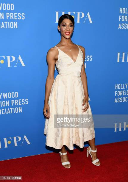 Rodriguez attends the Hollywood Foreign Press Association's Grants Banquet at The Beverly Hilton Hotel on August 9 2018 in Beverly Hills California