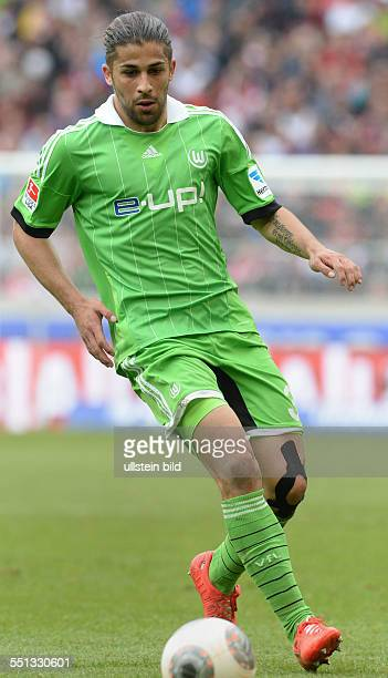 Rodriguez Ricardo Switzerland soccer player of the German first division Bundesliga team VfL Wolfsburg Stuttgart May 3 2014