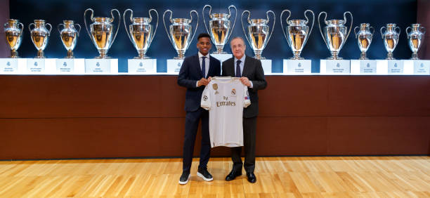 ESP: Real Madrid Unveil New Signing Rodrygo Goes
