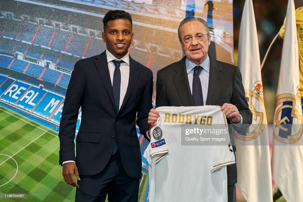 Rodrygo Is Presented As New Real Madrid Player : ニュース写真
