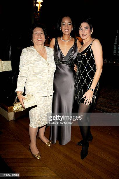 Roe Glasser, Cassandra Seidenfeld Lyster and Arlene Lazare attend ROBERT LYSTER & CASSANDRA SEIDENFELD LYSTER'S FETE D' AMOUR at The New York Tennis...