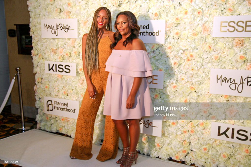 Roe Williams (L) and Kristi Henderson attend the 2017 Essence Festival on July 2, 2017 in New Orleans, Louisiana.