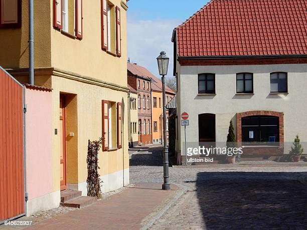 Roebel Kleinstadt im Suedwesten des Landkreises Mecklenburgische Seenplatte in MecklenburgVorpommern