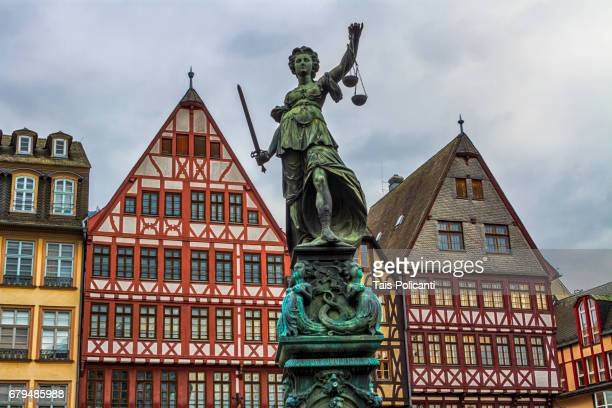 Roemer Old city center - Frankfurt, Hessen, Germany