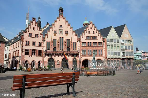 Roemer Square in Frankfurt, Deutschland