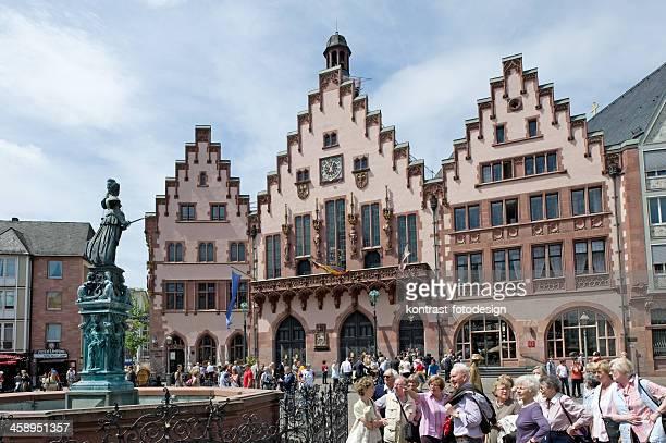 Römerberg, Frankfurt, Deutschland.