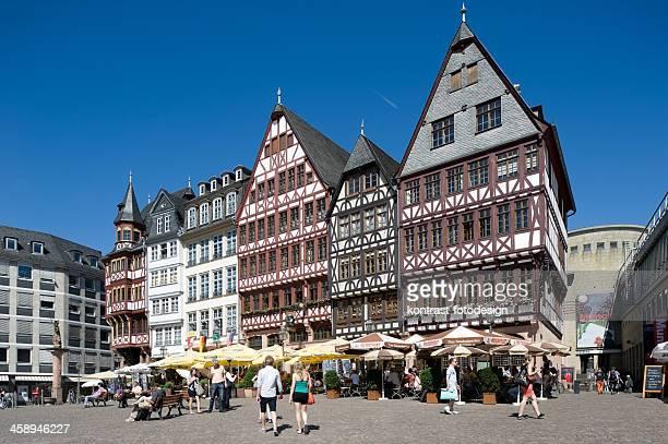 Römerberg mit Ostzeile, Frankfurt/Main, Deutschland