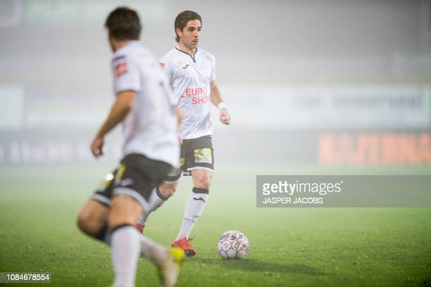Roeselare's Andrei Camargo pictured in action during a soccer game between KV Mechelen and Roeselare Friday 18 January 2019 in Mechelen on the 22nd...