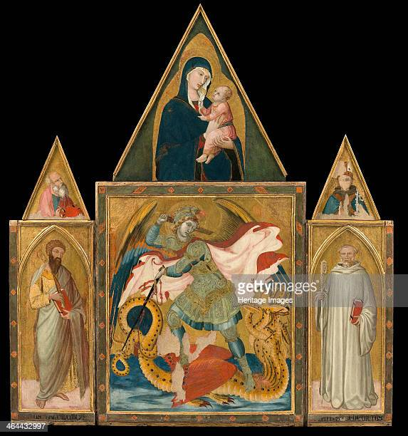 Rofeno Abbey Poliptych 13301335 Found in the collection of the Museo Civico Archeologico e d'Arte Sacra Palazzo Corboli Asciano