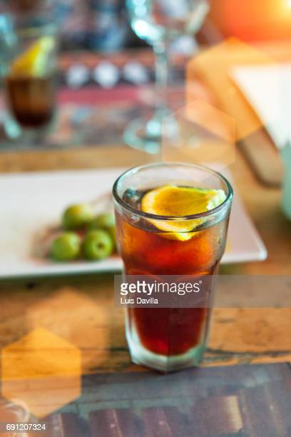 rofes vermouths. reus. spain - reus spain ストックフォトと画像