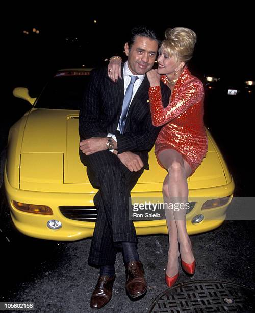 Roffredo Gaetani and Ivana Trump during Birthday Party for Ivana Trump at The Lava Lounge in New York City New York United States