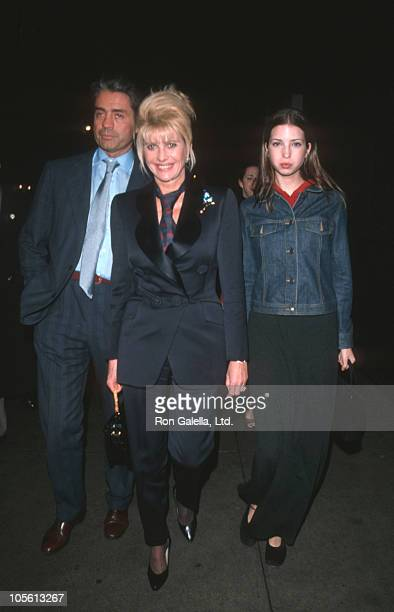 Roffredo Gaetani Ivana Trump and Ivanka Trump during Ivana Trump Sighting on Madison Avenue March 4 1999 at Madison Avenue in New York City New York...